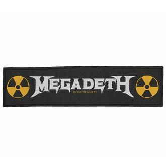 Patch MEGADETH - LOGO - RAZAMATAZ, RAZAMATAZ, Megadeth