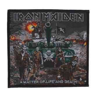 Patch IRON MAIDEN - A MATTER OF LIFE AND DEATH - RAZAMATAZ, RAZAMATAZ, Iron Maiden