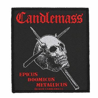 Patch CANDLEMASS - EPICUS DOOMICUS MÉTAL LICUS - RAZAMATAZ, RAZAMATAZ, Candlemass