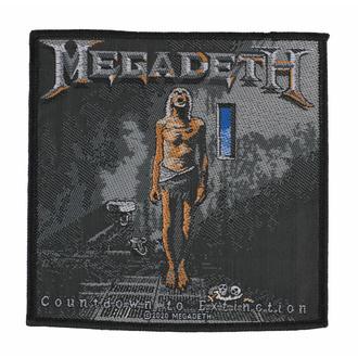 Patch MEGADETH - COUNTDOWN TO EXTINCTION - RAZAMATAZ, RAZAMATAZ, Megadeth