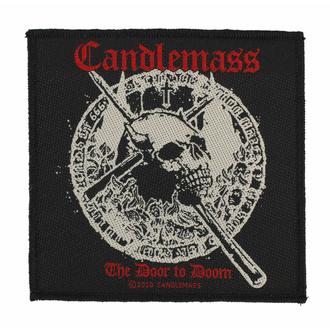 Patch CANDLEMASS - THE DOOR TO DOOM - RAZAMATAZ, RAZAMATAZ, Candlemass