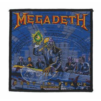 Patch MEGADETH - RUST IN PEACE RAZAMATAZ, RAZAMATAZ, Megadeth