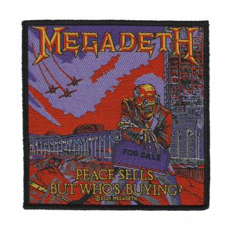 Patch MEGADETH - PEACE SELLS- RAZAMATAZ, RAZAMATAZ, Megadeth