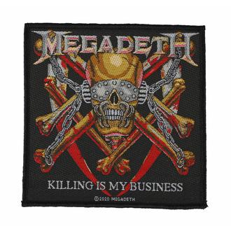 Patch MEGADETH - KILLING IS MY BUSINESS - RAZAMATAZ, RAZAMATAZ, Megadeth