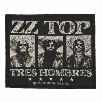 Patch ZZ TOP - TRES HOMBRES - RAZAMATAZ, RAZAMATAZ, ZZ-Top