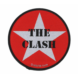 Patch THE CLASH - MILITARY LOGO - RAZAMATAZ, RAZAMATAZ, Clash