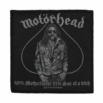Patch Motörhead - 49% MOTHERFUCKER - RAZAMATAZ, RAZAMATAZ, Motörhead