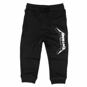 Pantalon pour enfants ( survêtement) Metallica - (Logo) - noir - blanc - Metal-Kids, Metal-Kids, Metallica