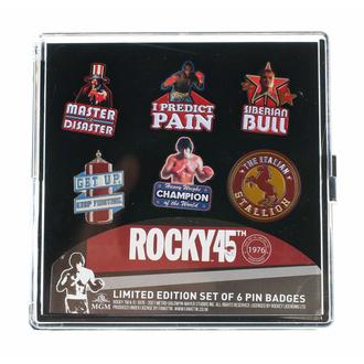 Pins (ensemble 6 pcs) Rocky - 45th Anniversaire Édition limitée, NNM, Rocky