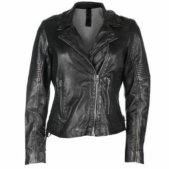 Veste pour femme (bomber) G2G Wona - SF LAMEV - Glossy Noir - M0012426