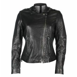 Veste pour femme (bomber) G2G Wona - SF LAMEV - Glossy Noir, NNM