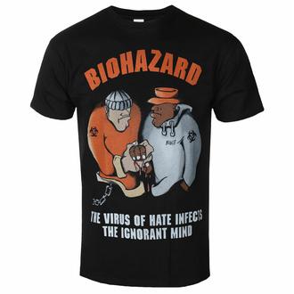 T-shirt pour homme BIOHAZARD - THE VIRUS OF HATE - RAZAMATAZ, RAZAMATAZ, Biohazard
