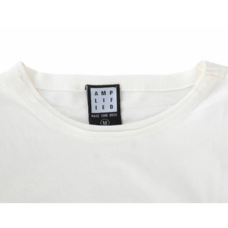 t-shirt pour homme RAMONES - VINTAGE SHIELD - VINTAGE BLANC - AMPLIFIED, AMPLIFIED, Ramones