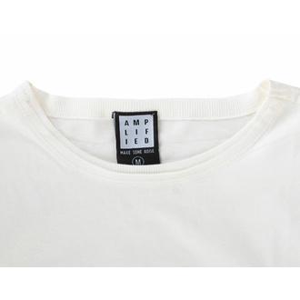t-shirt pour homme U2 - ZOO TV TOUR - VINTAGE BLANC - AMPLIFIED, AMPLIFIED, U2