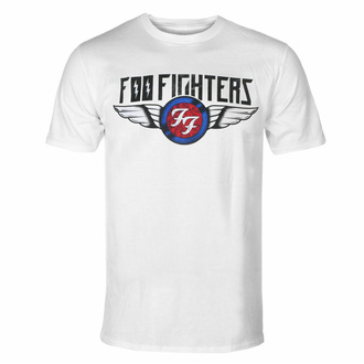 T-shirt pour homme Foo Fighters - Flash Wings - WHT - ROCK OFF, ROCK OFF, Foo Fighters