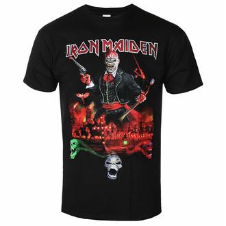 T-shirt pour homme Iron Maiden - LOTB Live Album - Noir - ROCK OFF, ROCK OFF, Iron Maiden