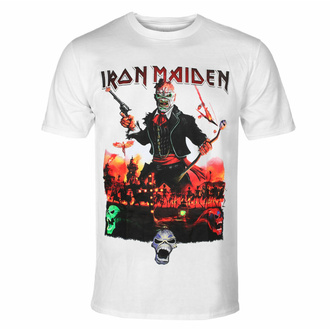 T-shirt pour homme Iron Maiden - LOTB Live In Mexico City - blanc - ROCK OFF - IMTEE105MW