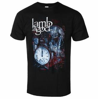 T-shirt pour homme Lamb Of God - Circuitry Skull Recolor - Noir - ROCK OFF, ROCK OFF, Lamb of God
