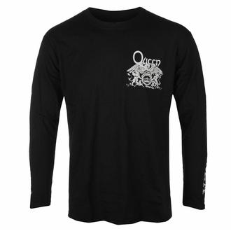T-shirt pour homme à manches longues Queen - Extravaganza - Noir - ROCK OFF, ROCK OFF, Queen