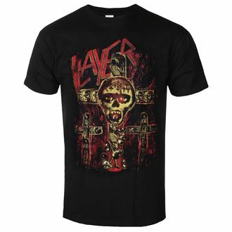 T-shirt pour homme Slayer - SOS Crucifixion - Noir - ROCK OFF, ROCK OFF, Slayer