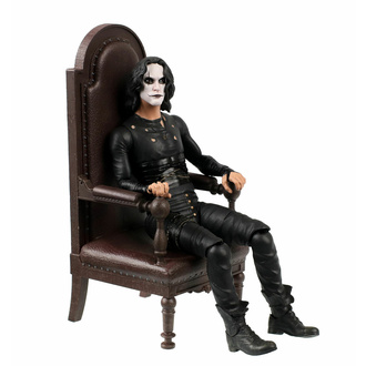 Figurine The Crow - Figurine articulée Deluxe - Eric Draven in chair S DC C 2021 Exclusif 18 cm, NNM