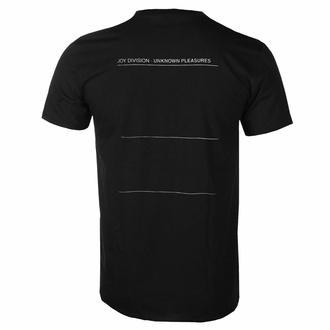 T-shirt pour homme Joy Division - Unknown Pleasures - Noir - ROCK OFF, ROCK OFF, Joy Division