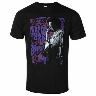 T-shirt pour homme Jimi Hendrix - Purple Haze - Noir - ROCK OFF, ROCK OFF, Jimi Hendrix
