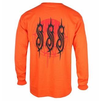 T-shirt pour homme à manches longues Slipknot - Winged Devil - ORANGE - ROCK OFF, ROCK OFF, Slipknot