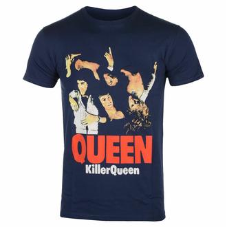 T-shirt pour homme Queen - Killer Queen - NAVY - ROCK OFF, ROCK OFF, Queen