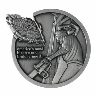 médaillon Texas Chainsaw Massacre - Logo Édition limitée, NNM