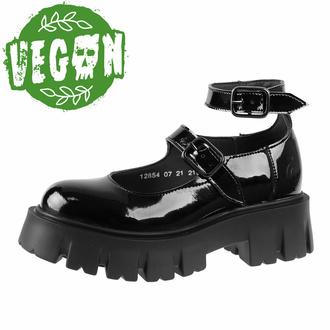 Chaussures pour femmes ALTERCORE - Constance Noir Vegan Black Patent, ALTERCORE
