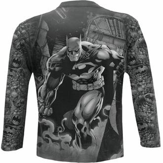 t-shirt pour homme manche longue SPIRAL - Batman - VENGEANCE WRAP - Noir, SPIRAL, Batman