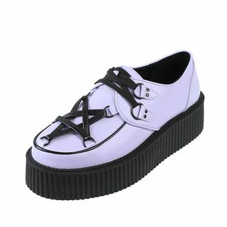 Chaussures pour femmes KILLSTAR - Creepers Hexellents - Lilas, KILLSTAR