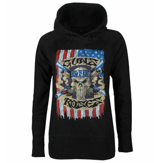 sweatshirt pour femmes Guns N' Roses - Skull - DRM125444