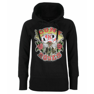 sweatshirt pour femmes Guns N' Roses - Cards, NNM, Guns N' Roses