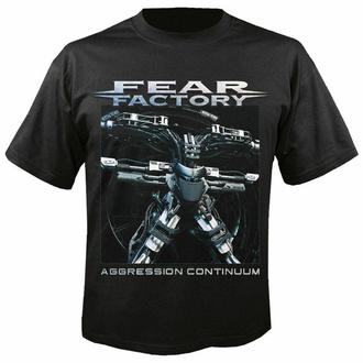 t-shirt pour homme FEAR FACTORY - Agression continuum - NUCLEAR BLAST, NUCLEAR BLAST, Fear Factory