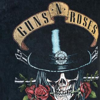 t-shirt pour homme Guns N' Roses - Appetite Washed - BL Dip-Dye - ROCK OFF, ROCK OFF, Guns N' Roses