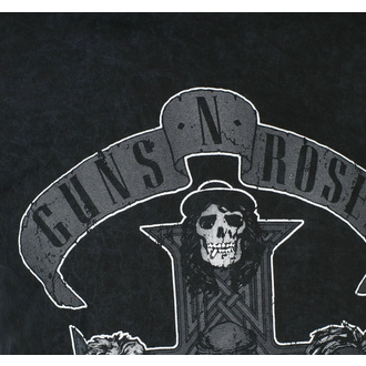 t-shirt pour homme Guns N' Roses - Monochrome Cross - BL Dip-Dye - ROCK OFF, ROCK OFF, Guns N' Roses