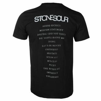 t-shirt pour homme Stone Sour - Audio Secrecy Square BL - ROCK OFF, ROCK OFF, Stone Sour