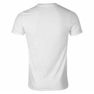t-shirt pour homme Iron Maiden - Powerslave Japan Flyer WHT - ROCK OFF, ROCK OFF, Iron Maiden