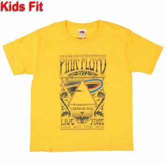 T-shirt pour enfants Pink Floyd - Carnegie Hall Poster YELL - ROCK OFF, ROCK OFF, Pink Floyd