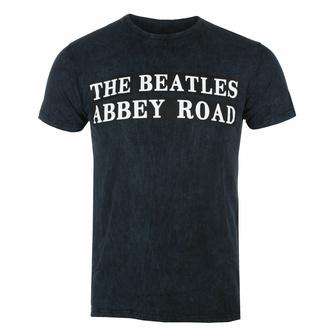 t-shirt pour homme Beatles - ABBEY Road Sign BL Dip-Dye - ROCK OFF, ROCK OFF, Beatles