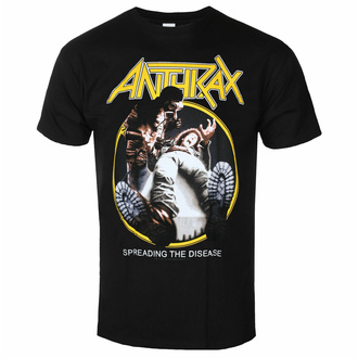 t-shirt pour homme Anthrax - Spreading the disease BL - ROCK OFF, ROCK OFF, Anthrax