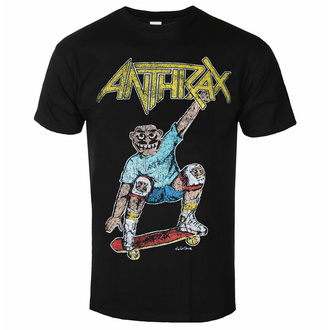 t-shirt pour homme Anthrax - Spreading Skater Notman Vintage BL - ROCK OFF, ROCK OFF, Anthrax