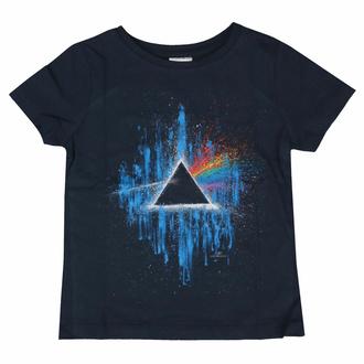 T-shirt Pink Floyd pour enfants - DSOTM Blue Splatter NAVY - ROCK OFF, ROCK OFF, Pink Floyd