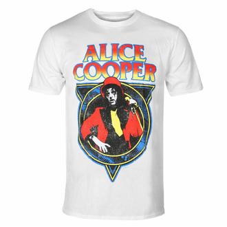 t-shirt pour homme Alice Cooper - Snakeskin WHT - ROCK OFF, ROCK OFF, Alice Cooper