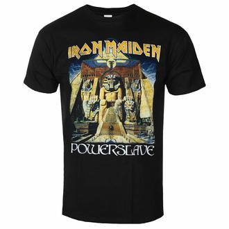 t-shirt pour homme Iron Maiden - Powerslave World Slavery Tour BL - ROCK OFF, ROCK OFF, Iron Maiden