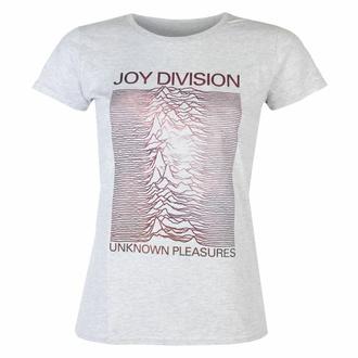 t-shirt pour femmes Joy Division - Space HEATHER - ROCK OFF, ROCK OFF, Joy Division