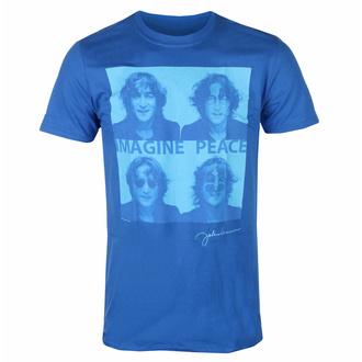 t-shirt pour homme John Lennon - Glasses 4 Up BLEU - ROCK OFF, ROCK OFF, John Lennon