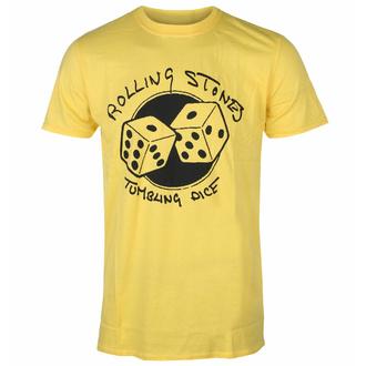 t-shirt pour homme Rolling Stones - Tumbling Dice YELL - ROCK OFF, ROCK OFF, Rolling Stones